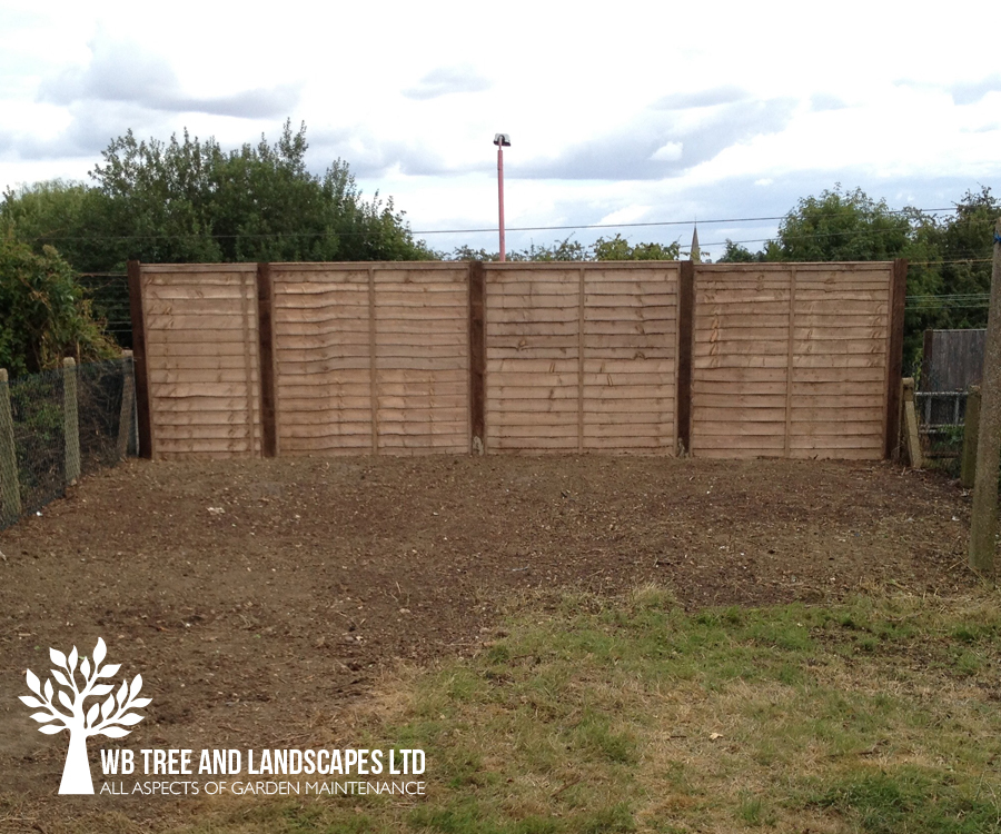 Fencing, WB Tree and Landscapes Ltd, Hertford