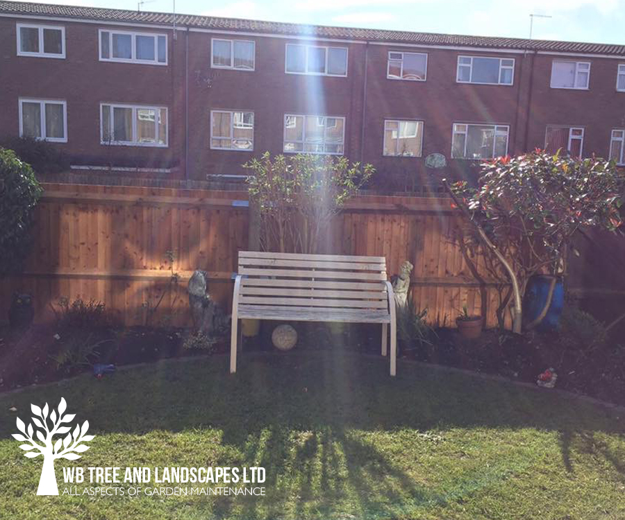 Garden Fencing, WB Tree and Landscapes Ltd, Hertford